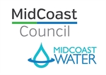 Midcoast Council and MidCoast Water logos