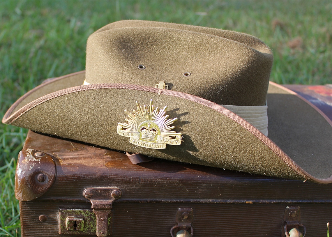 ANZAC Day - Image of a slouch hat