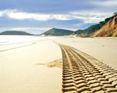 Explore our beaches four wheel driving - MidCoast Council