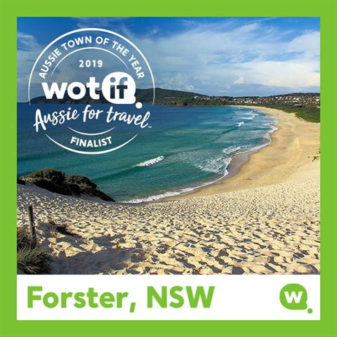 Forster, Aussie Town of the Year finalist - MidCoast Council
